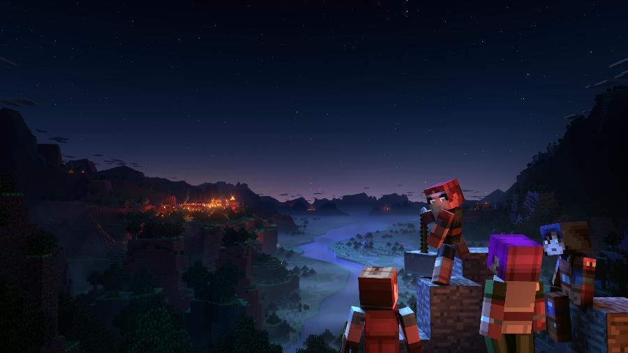 """Minecraft Dungeons é um """"Diablo"""" simplificado, mas divertido - Divulgação"""