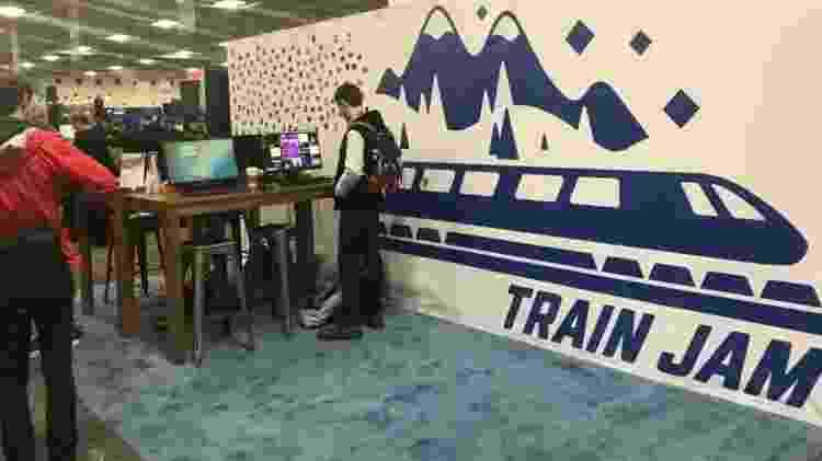 Train Jam - Reprodução/Twitter - Reprodução/Twitter