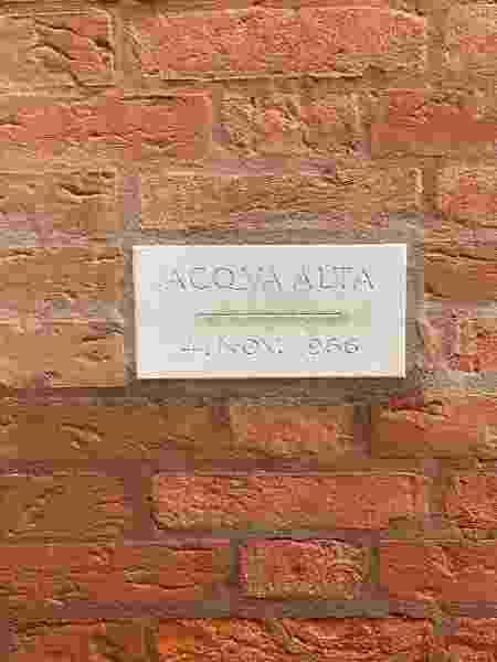 Acqua Alta em Veneza, novembro 2019 - Leandro Anhold Zaffalon/Arquivo pessoal - Leandro Anhold Zaffalon/Arquivo pessoal