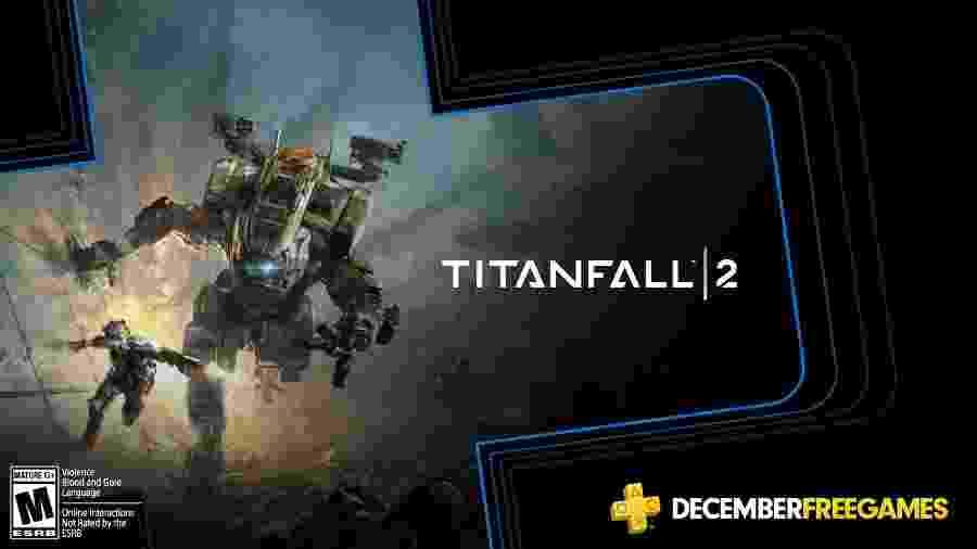 Titanfall 2 é um dos jogos que serão dados pela PS Plus em dezembro - Divulgação/Sony