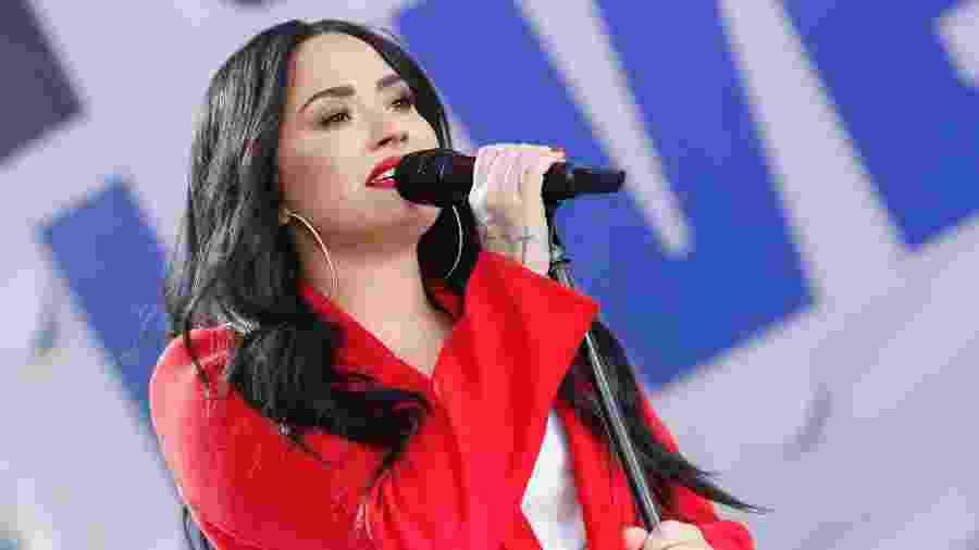 Demi Lovato faz show em março de 2018, poucos meses antes de sofrer overdose - Paul Morigi/Getty Images for March For Our Lives