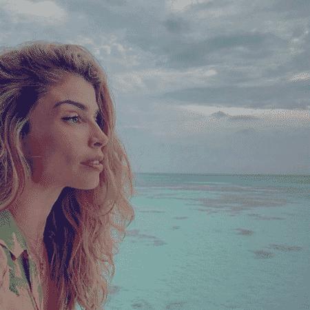 Grazi Massafera posa nas Maldivas - Reprodução/Instagram