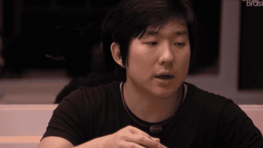 Pyong opina sobre paredão da semana - Reprodução/Globoplay