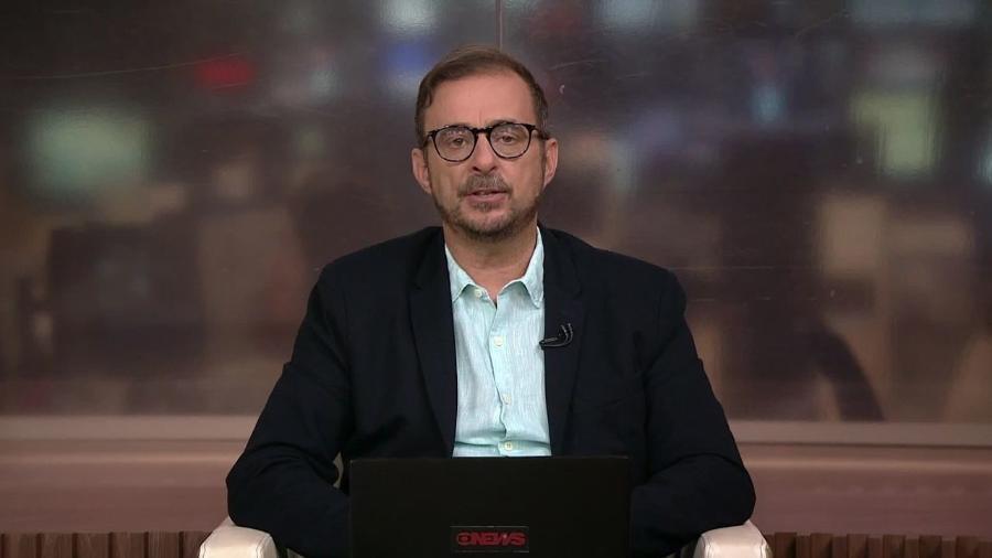 Octavio Guedes, comentarista da Globo News - Reprodução/Globo News