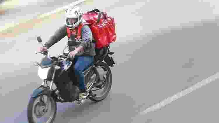 Entregador de moto - Marcello Casal Jr. / Agência Brasil - Marcello Casal Jr. / Agência Brasil
