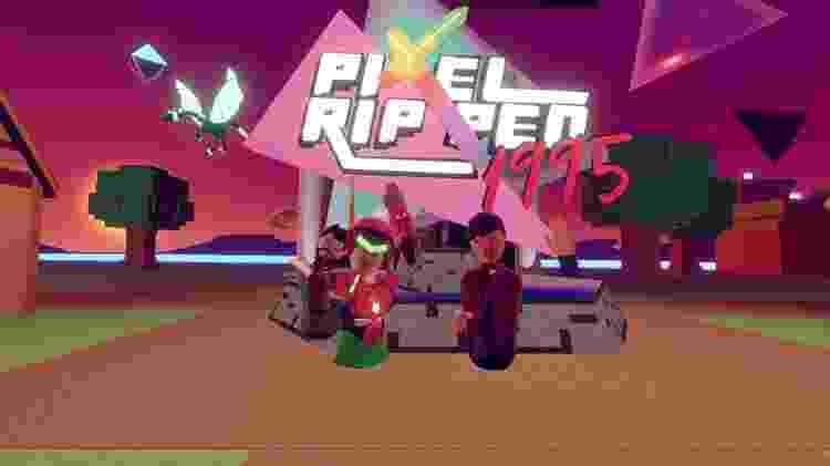 Pixel Ripped festa de videogame em realidade virtual - Reprodução - Reprodução