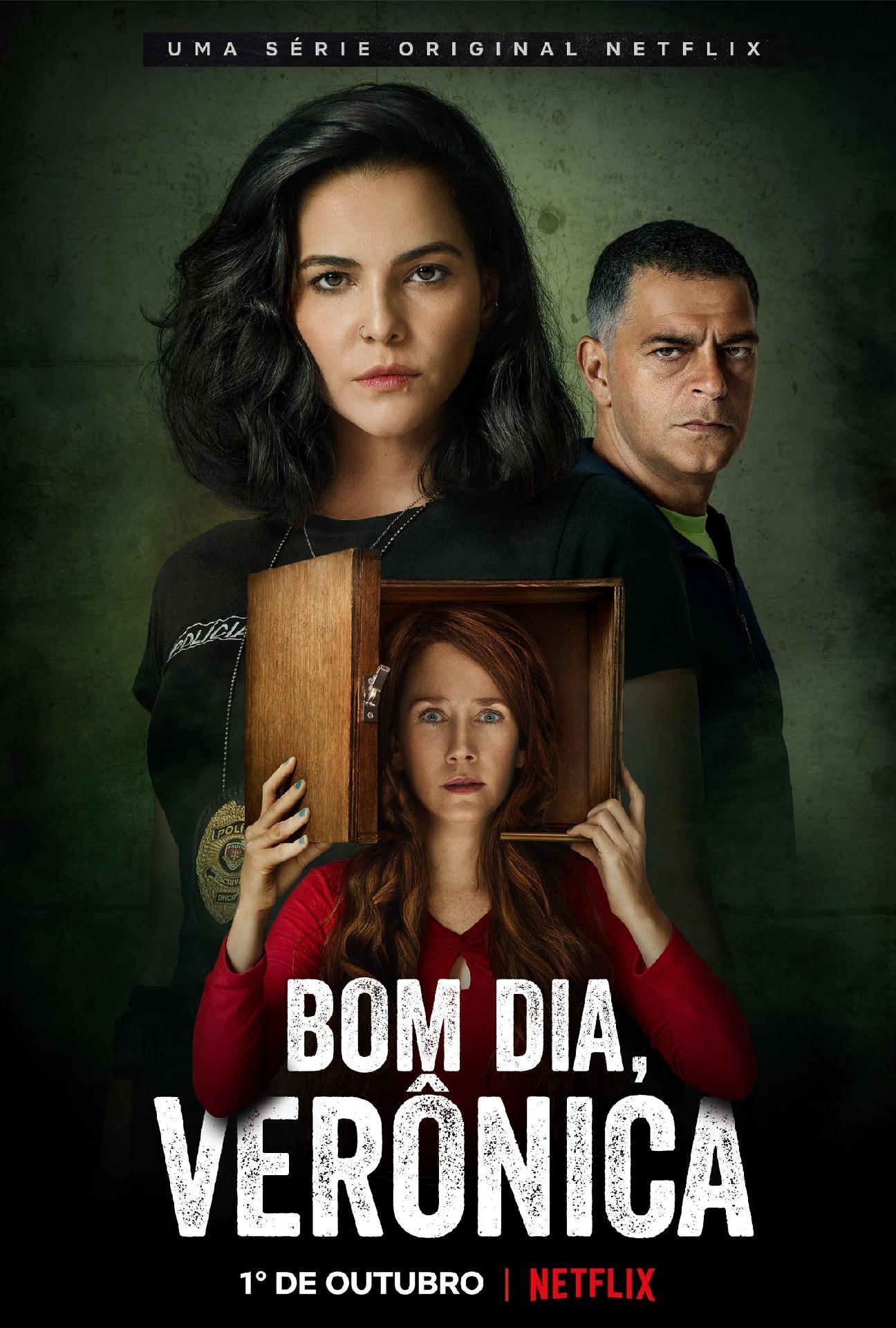 Bom Dia, Veronica': Adaptação ganha teaser e data de estreia na Netflix - Entretenimento - BOL