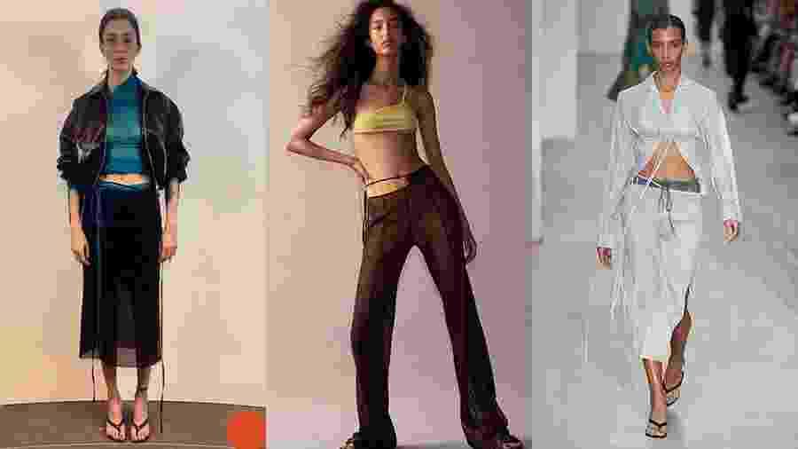 Looks da marca Supriya Lele na Semana de Moda de Londres - Reprodução/Instagram