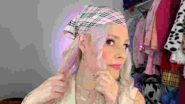 Lenço camponesa - foto 4 - Natália Eiras - Natália Eiras