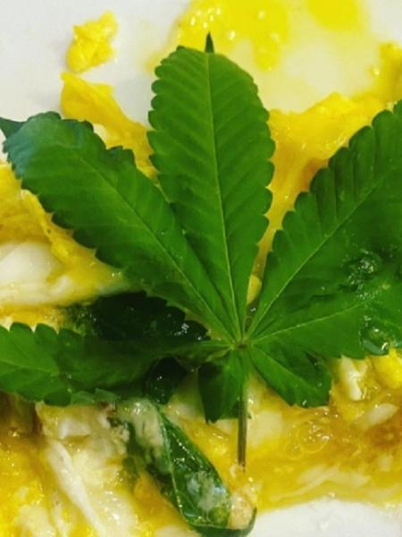 """O chef Henrique Fogaça publicou foto de """"omelete de cannabis"""" em seu Instagram - Reprodução/Instagram"""