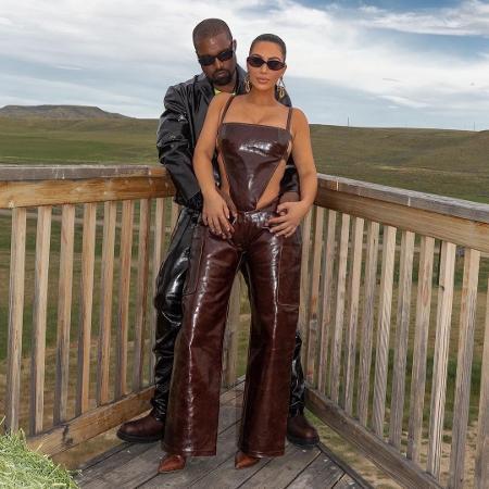 Kim Kardashian e Kanye West - Reprodução/Instagram