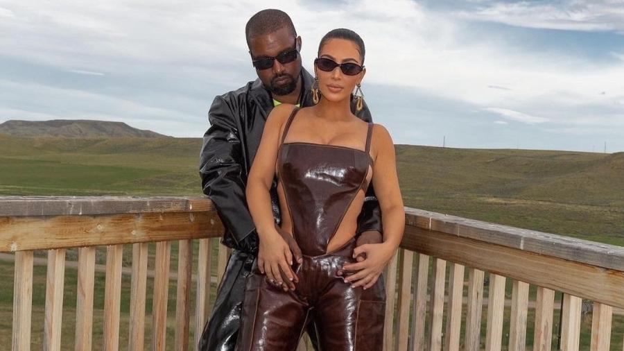 Kim Kardashian e Kanye West estariam em terapia para resolver problemas matrimoniais - Reprodução/Instagram