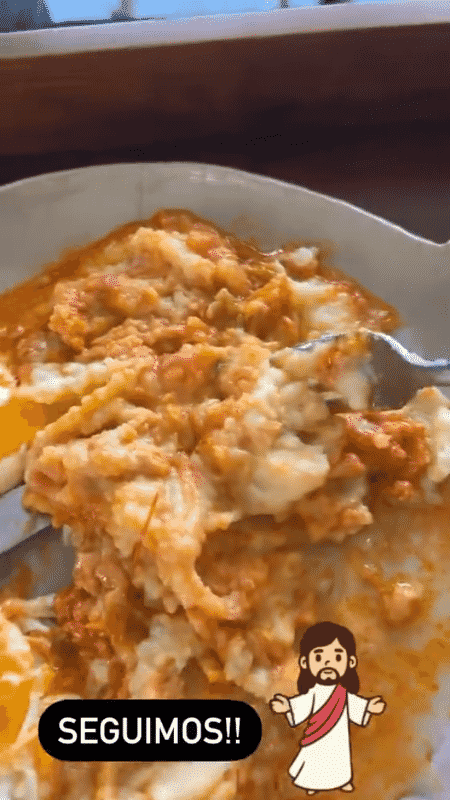 Henri Castelli compartilhou imagens da dieta  - Reprodução/Instagram - Reprodução/Instagram
