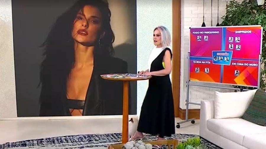 """Ana Maria Braga comentou sobre final do """"Grande Fratello VIP"""", o """"BBB"""" na versão italiana - Reprodução/TV Globo"""