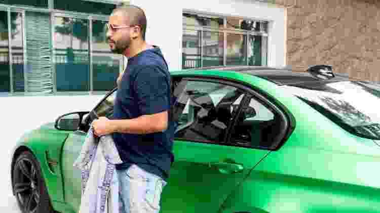 Projota com BMW M3 - Reprodução - Reprodução