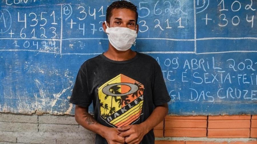 David Balbino Batista, 19 anos, do Jardim Aeroporto III, em Mogi das Cruzes (SP)  - Mariana Acioli