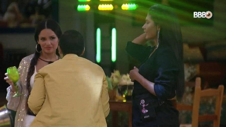 BBB 21: Gilberto fala da sexualidade de uma irmã e leva bronca de Juliette - Reprodução/Globoplay