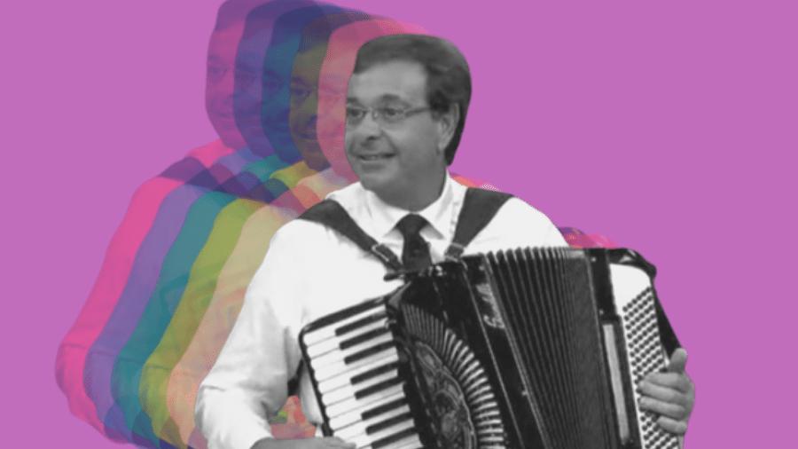 O sorrisão do ministro Gilson Machado - Montagem: Pedro Antunes