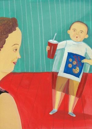 Pais de crianças obesas não enxergam que filhos estão acima do peso - Giselle Potter/ The New York Times