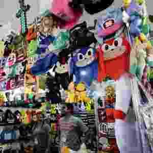 10.jul.2015 - O Anime Friends terá shows com bandas japonesas, concursos mundiais de cosplay, feira de colecionáveis e de quadrinhos, exposição e campeonatos de videogames, encontro com youtubers, comidas típicas, palestras e autógrafos com convidados nacionais e internacionais - Newton Menezes/Futura Press/Folhapress