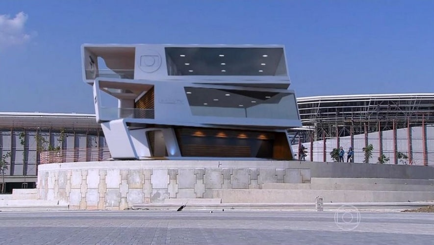 5.ago.2015 - Globo revela estúdio para os Jogos Olímpicos do Rio