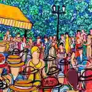 """O artista espanhol David Dalmau tem 20 de suas obras expostas na mostra inédita """"A Festa de Dalmau"""", em cartaz de 10 de dezembro, às 20h, até 14 de fevereiro de 2016, no hotel Blue Tree Premium Faria Lima. A curadoria é da jornalista e fotógrafa Adriana Guidolin. - Divulgação"""