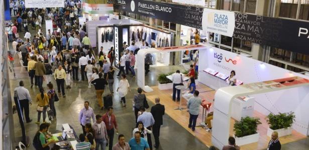 Colombiatex das Américas promovido no ano de 2015 - Inexmoda