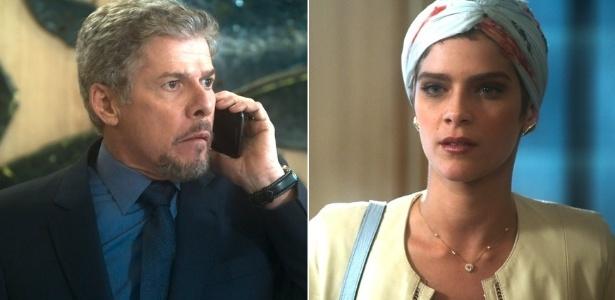 """Em """"A Lei do Amor"""", Letícia descobre que Tião quer Pedro na cadeia mesmo inocente - Reprodução/TV Globo"""