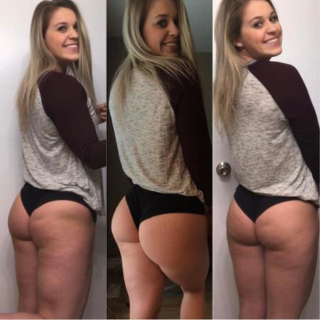 A blogueira fitness Victoria D?Ariano, do Canadá - Reprodução/Instagram