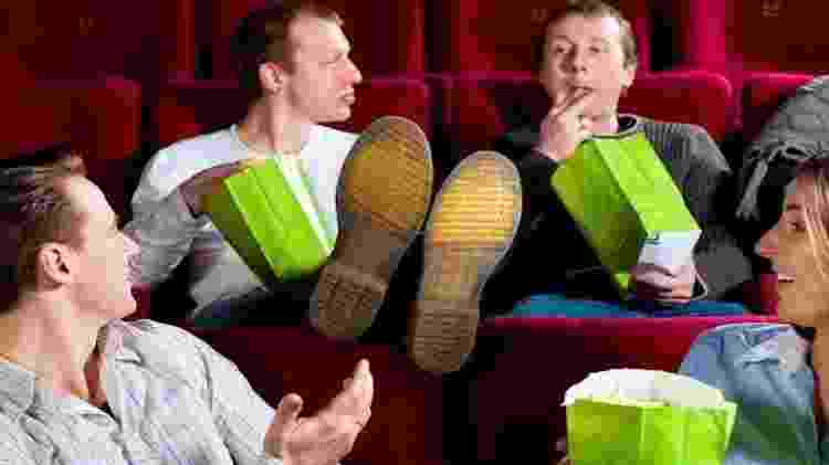 Folgados no cinema - Reprodução - Reprodução