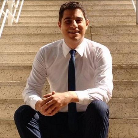 O apresentador Evaristo Costa - Reprodução/Twitter