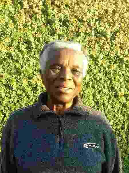 A professora Diva Guimarães aos 77 anos - Arquivo Pessoal