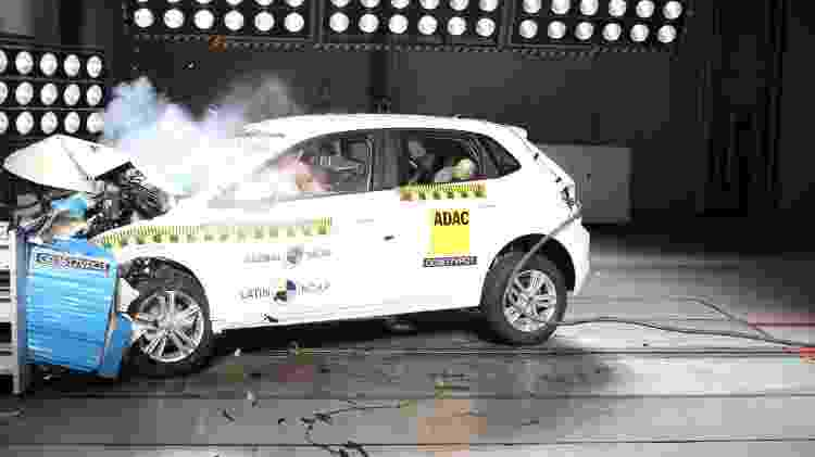 Novo Volkswagen Polo já foi avaliado pelo Latin NCAP: 5 estrelas para adultos e crianças - Divulgação - Divulgação