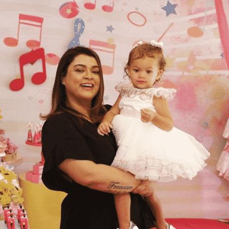 Preta Gil com a neta, Sol de Maria - Reprodução/Instagram/pretagil