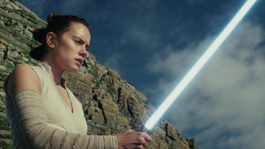 """Cena de """"Star Wars: Os Últimos Jedi"""" - Divulgação"""