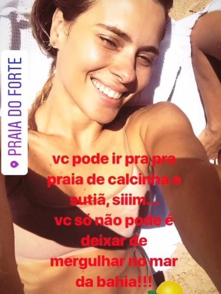 Reprodução/Instagram/Carolina Dieckmann