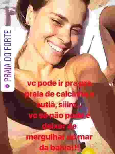 Carol Dieckmann - Reprodução/Instagram/Carolina Dieckmann - Reprodução/Instagram/Carolina Dieckmann
