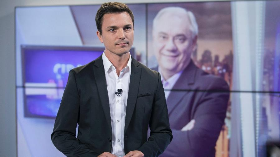 Diego Esteves, filho de Marcelo Rezende  - Edu Moraes/Divulgação/Record TV