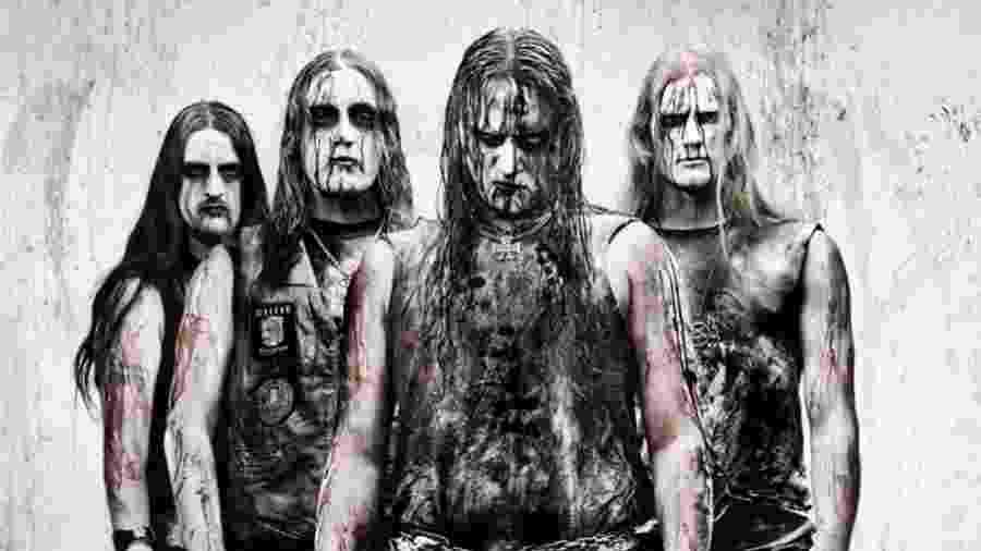 A banda de black metal Marduk - Divulgação