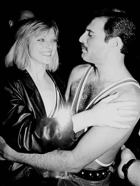 Mary Austin e Freddie Mercury - Getty Image - Getty Image