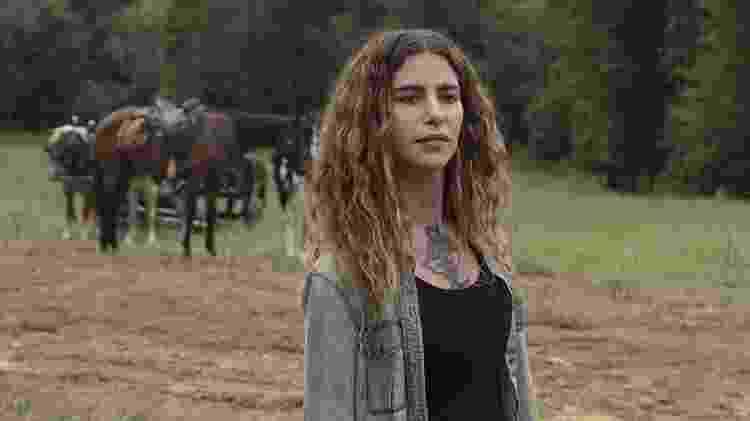 """Nadia Hilker como Magna em """"The Walking Dead"""" - Divulgação/AMC - Divulgação/AMC"""