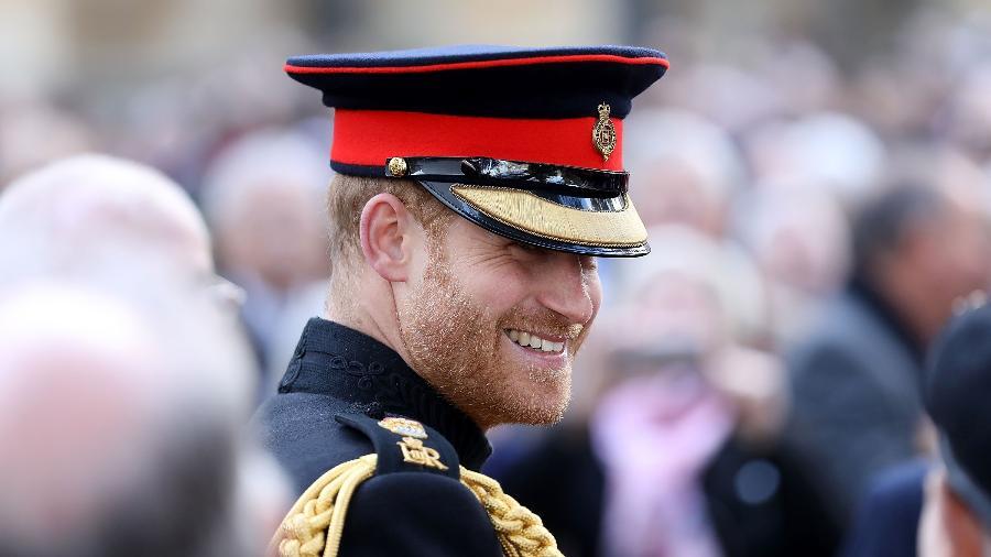 Príncipe Harry durante cerimônia na Abadia de Westminster - Getty Images