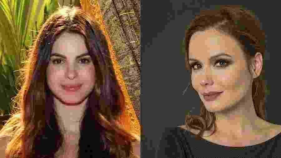 As atrizes Sthefany Brito e Graziella Schmitt - Divulgação / Record TV e Jennifer K. Liu