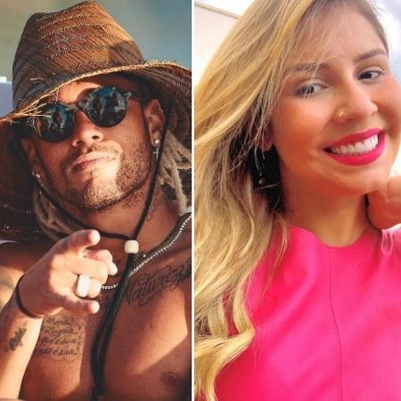 Neymar e Marília Mendonça - Reprodução/Instagram
