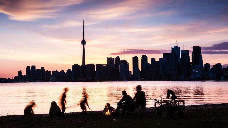 O skyline de Toronto, a partir das Toronto Islands - iStock/Getty Images