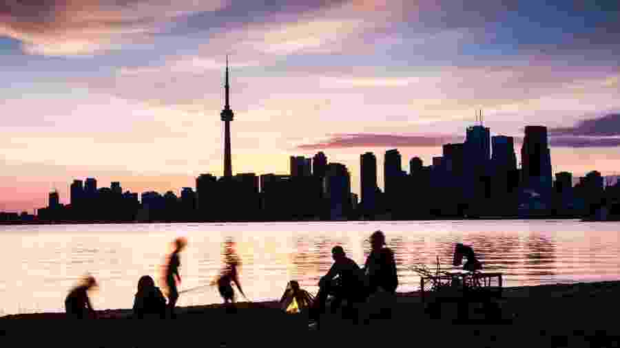 O skyline de Toronto, a partir das Toronto Islands - iStock/Getty Images
