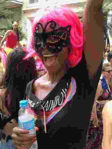 Maju Coutinho saiu em bloco de Carnaval em São Paulo - Reprodução/Instagram