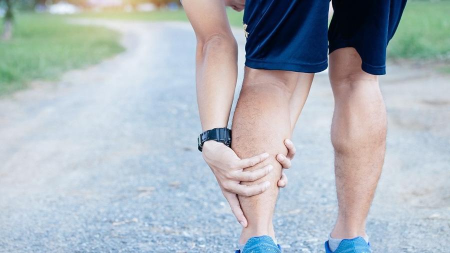 Nas músculo pernas morto