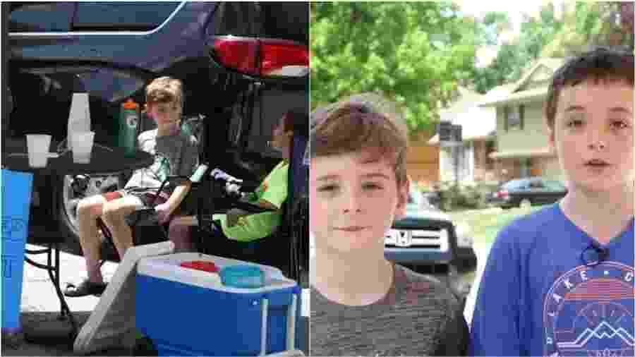 Carter e Ben Wilsow - Kansas City/Reprodução
