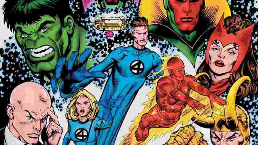 Capa da HQ History of the Marvel Universe nº 3; edição revela quem é o mutante mais poderoso - Reprodução/Marvel.com
